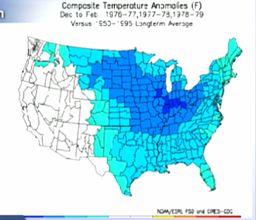 2014-2015 Winter Weather Prediction Map